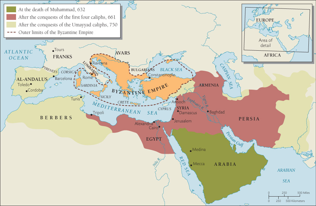 the spread of islamic civilization in history World of islam the spread of the persians who had created a great civilization before the rise of islam nevertheless produced much a brief history of islam.